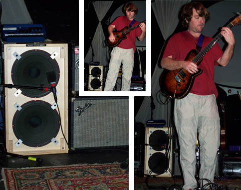 Keller Williams using a JG-1 with Tone Tubby speakers